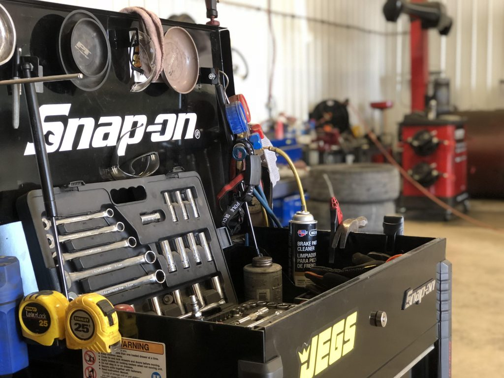 snap on equipment at P & M