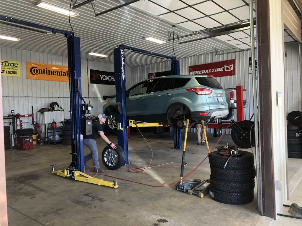 p and m tire change