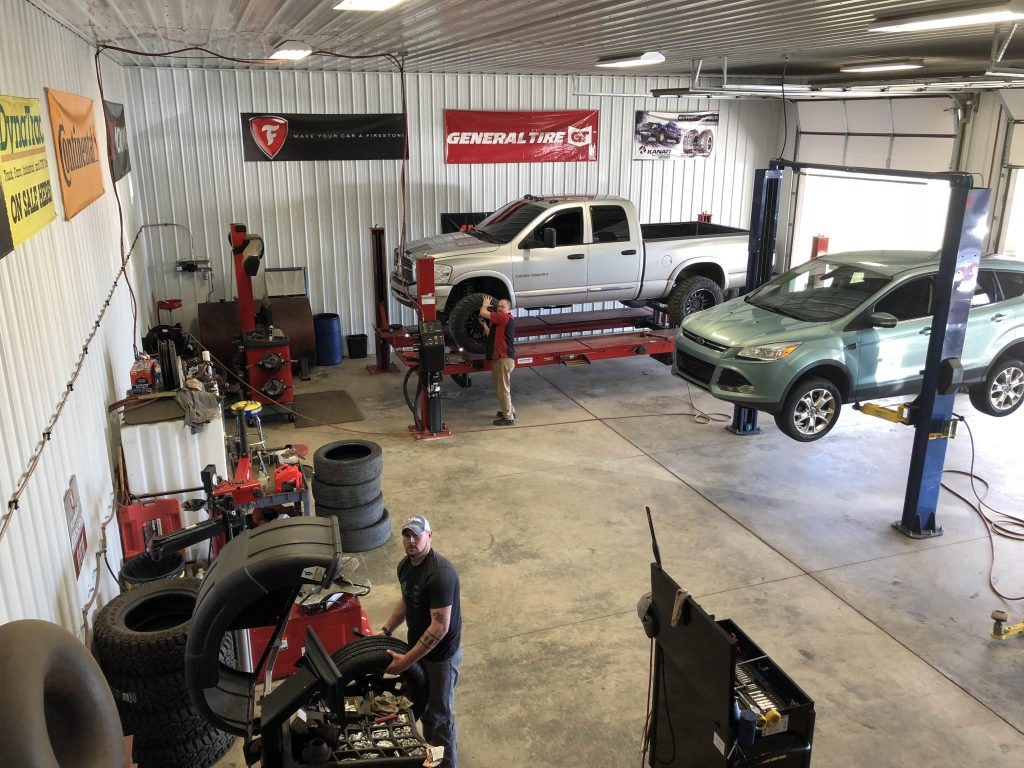Inside Shop View @ P & M Tire